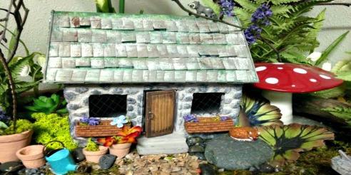 Mini Garden Fairy House
