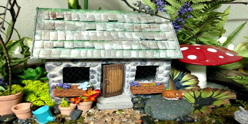 Mini Garden Fairy House