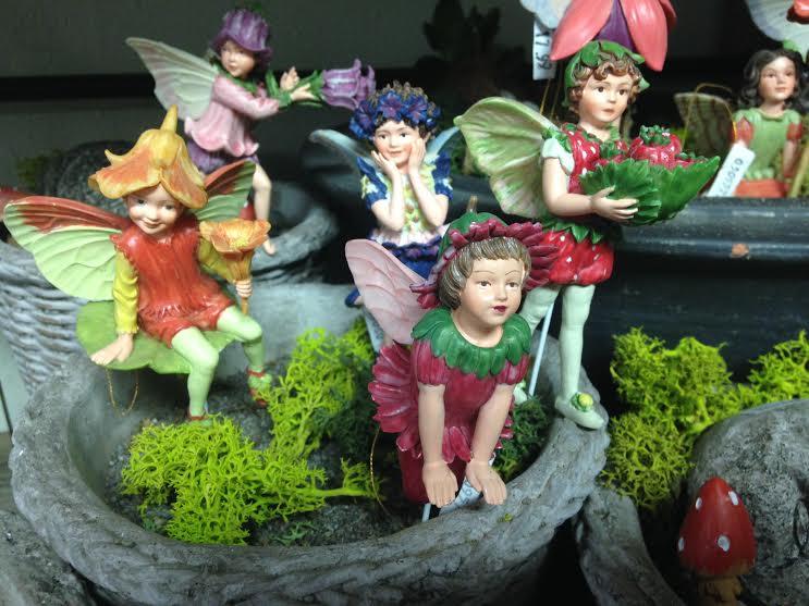 Mini Garden Fairy Figurines