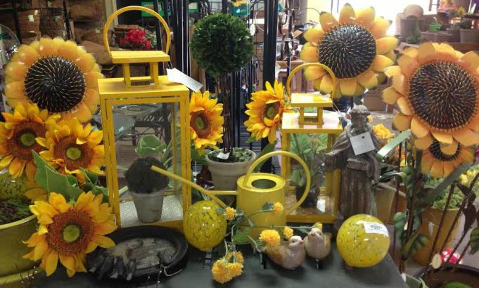 Sunflower Table Edit